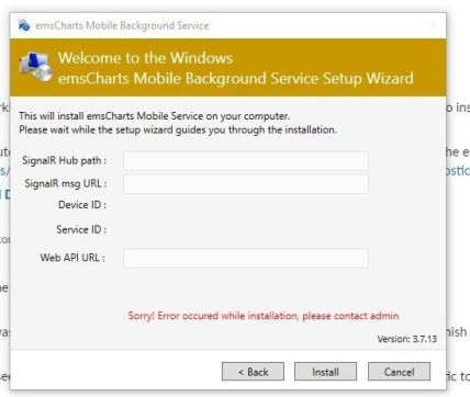 mobile background service sqlcompact issue